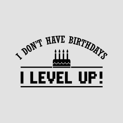 fødselsdag t-shirt