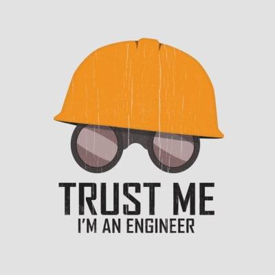 ingeniør t-shirt