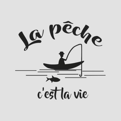 t-shirts pêcheur