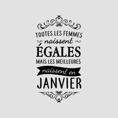 t-shirts janvier