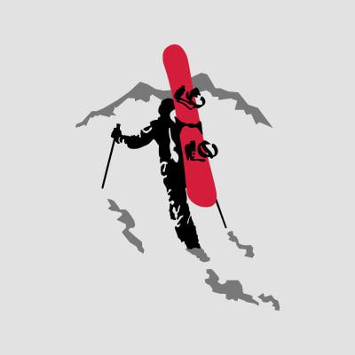 tee shirts snowboard