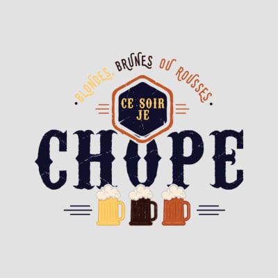 t-shirts bière