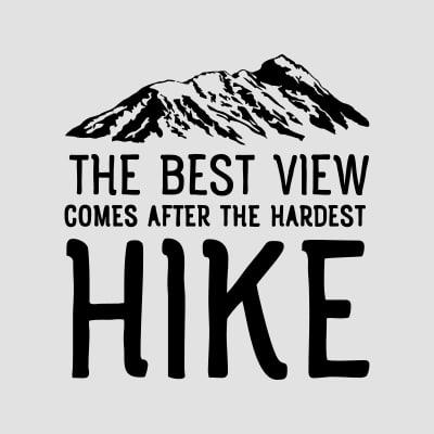 hiking t-shirts