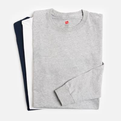 Langarmshirts