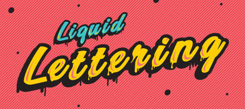 Preview Liquid Lettering Contest