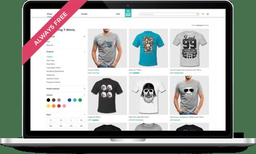 92a00b9b T-Shirt Printing. Personalised T-Shirts & Hoodies | Spreadshirt