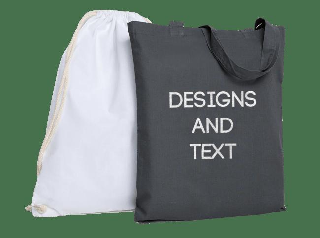 Cotton Per Tote Bag Print