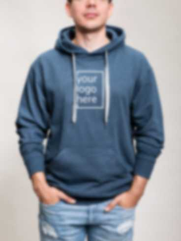 Personalised hoodie with an embroidered design