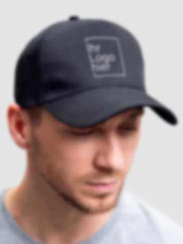 Cap mit personalisiertem Stick Motiv