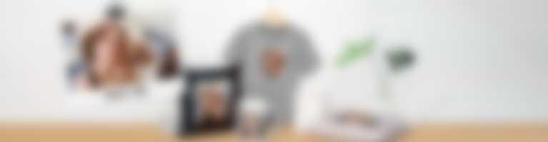 Verschillende producten als gepersonaliseerde fotocadeaus
