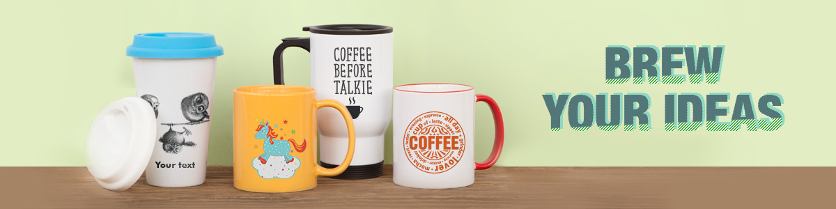 personalised mugs banner