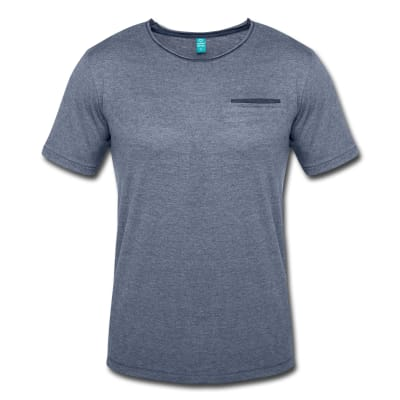 Men's T-Shirt with Mock Breast Pocket