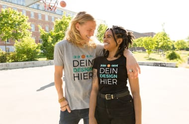 T-Shirts bedrucken mit Designs, Text oder Fotos