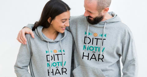 58d256113f21 Tryck tröja, designa egen luvtröja | Spreadshirt