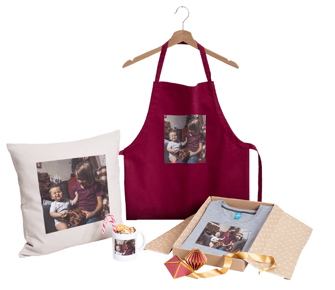 Personalised photo gifts for Christmas
