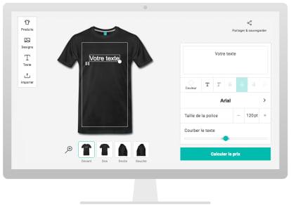 f10384b076bb T-shirt personnalisé