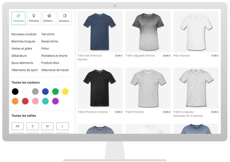 acheter populaire d6b81 fd4f2 T-shirt personnalisé   Spreadshirt