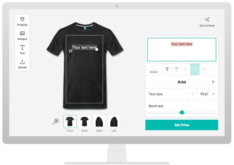 f38e5b3dcad Personalised T-Shirts   Custom T-Shirt Printing