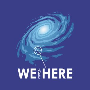 we are here t shirts