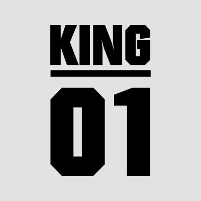 king & queen T-Shirts
