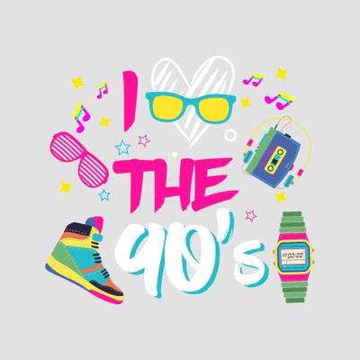 90er Jahre T-Shirts