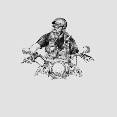 moto bike T-Shirts