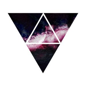 triangle galaxy galaxie du triangle tee shirts