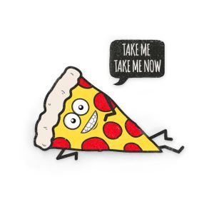 funny cartoon pizza statement funny quote caps hats