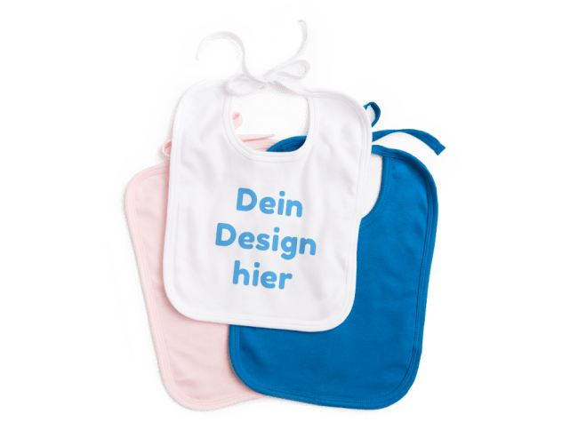 Babylätzchen bedrucken bei Spreadshirt