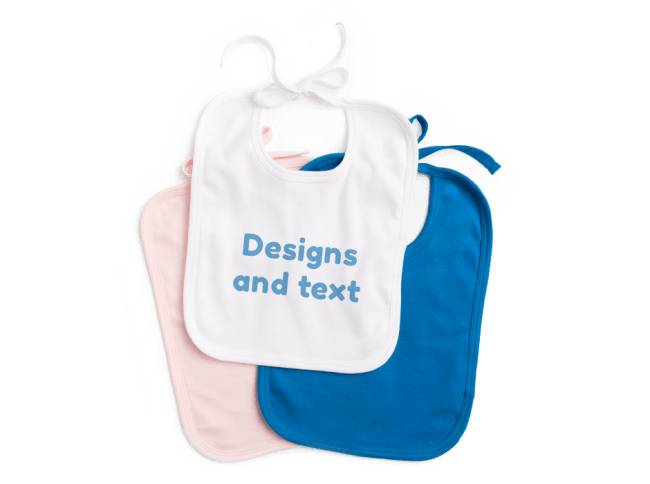 Personalised Baby Bibs Bandanas And Hats Spreadshirt Uk