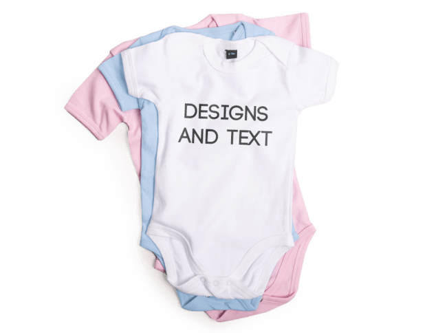 7ead2e2aa549 Personalised Baby Grows   Clothes