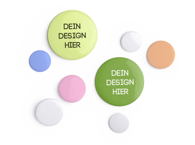 Buttons bedrucken bei Spreadshirt