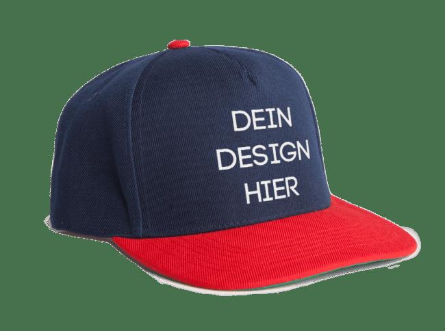 Caps selbst gestalten bei Spreadshirt