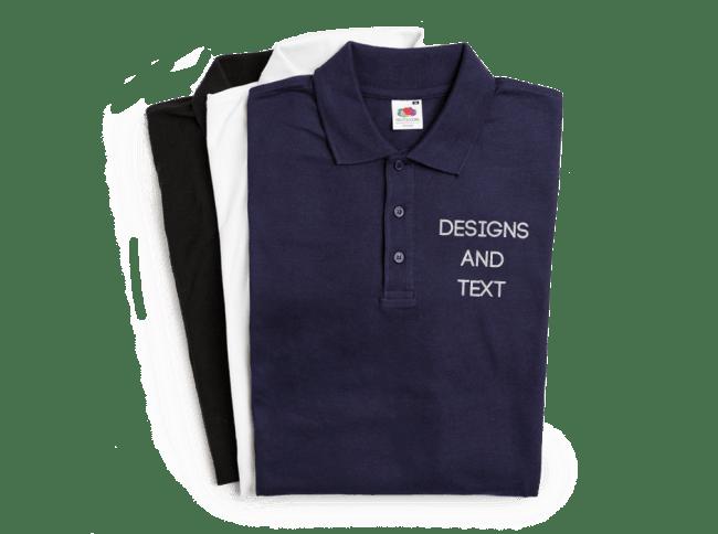 0e521b5b254 Create Personalised Polo Shirts Online