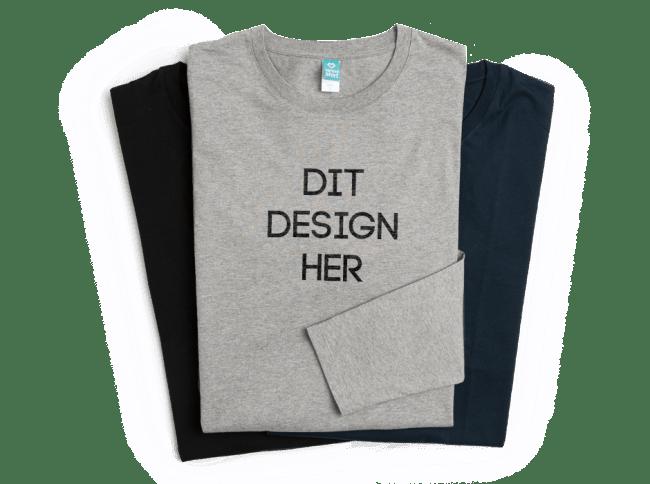 Langærmede t-shirts