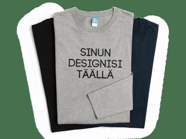 Painata pitkähihainen paita ja suunnittele longsleeve-paita | Spreadshirt