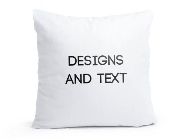 Personalised Pillow Cases Cushion Covers Spreadshirt UK Interesting Personalised Pillow Covers