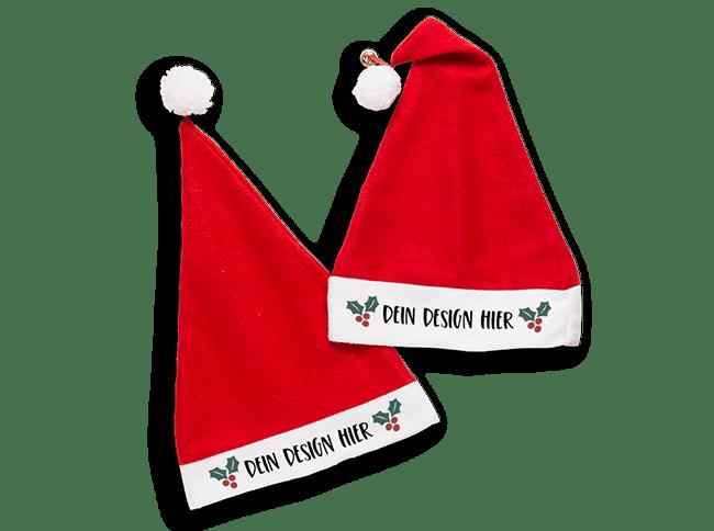 Weihnachtsmützen bedrucken bei Spreadshirt
