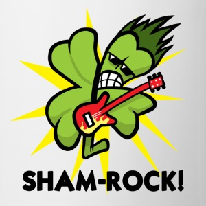 White SHAM-ROCK! Mugs  - Mug