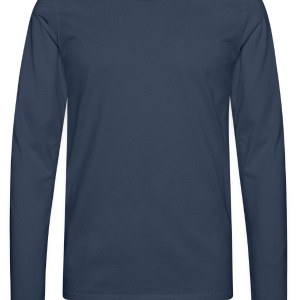 Peacock-blue Crossed our Heart - No Love - No Heart Bags  - Men's Premium Longsleeve Shirt