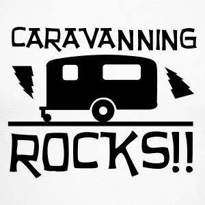 Caravanning Rocks Long sleeve shirts - Men's Long Sleeve Baseball T-Shirt