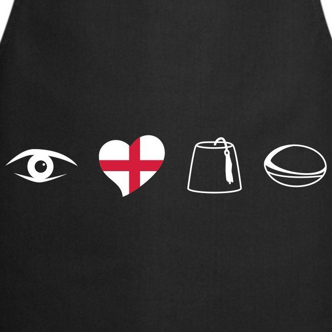 English Sarries Cooking Apron