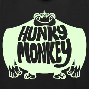 Navy Hunky Monkey. Kid's Tops - Kids' Premium Hoodie