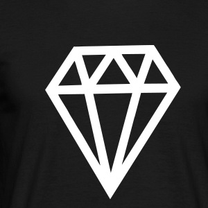 Diamonds - Männer T-Shirt