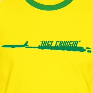 Yellow/green Cruisin' T-Shirts - Männer Kontrast-T-Shirt