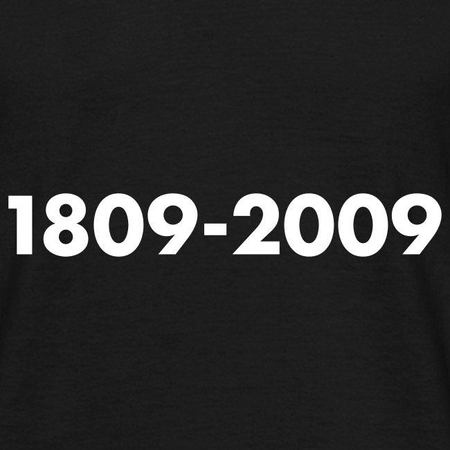 1809-2009, Flockdruck Weiß