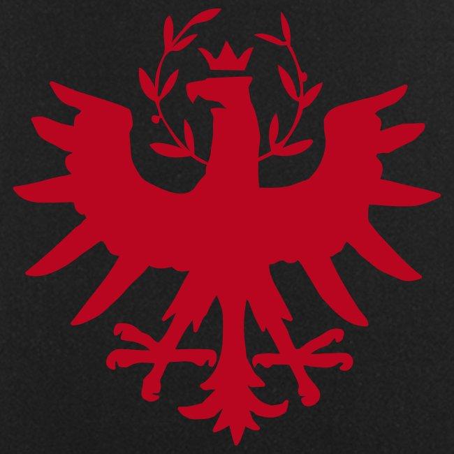 Tiroleradler Schürze Schwarz