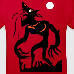 Red WolfMan? Kid's Shirts  - Kids' Organic T-shirt