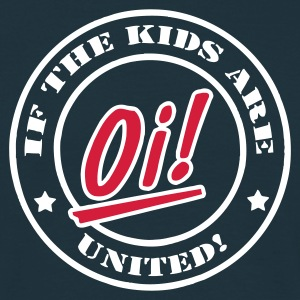 Navy If the kids are united T-Shirts - Männer T-Shirt