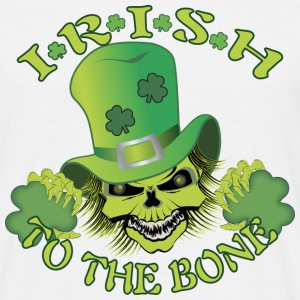 Irish Skull - Men's T-Shirt